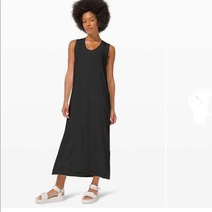 Lululemon All Yours Black Maxi Dress